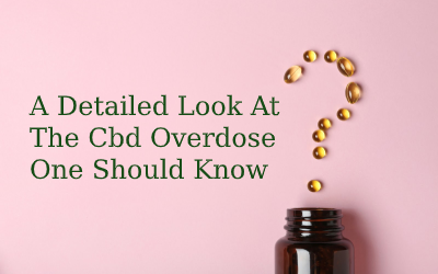 A Detailed Look At The Cbd Overdose That You Should Know