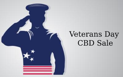 Veterans Day CBD Sale