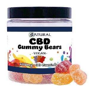 CBD Gummy Bears - Vegan, Organic