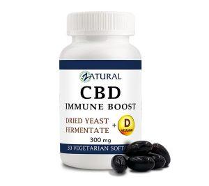 CBD Immune Boost Softgels