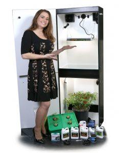 Growzilla 5.0 - 4 Plant LED Hydroponics Grow Box