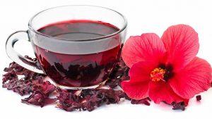 Thé à l'hibiscus